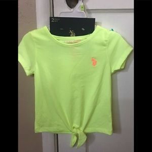 Neon Yellow Polo Ralph Lauren shirt